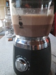 A freshly made batch of Keep It Real Hot Chocolate in the Bialetti Hot Chocolate Maker ;)
